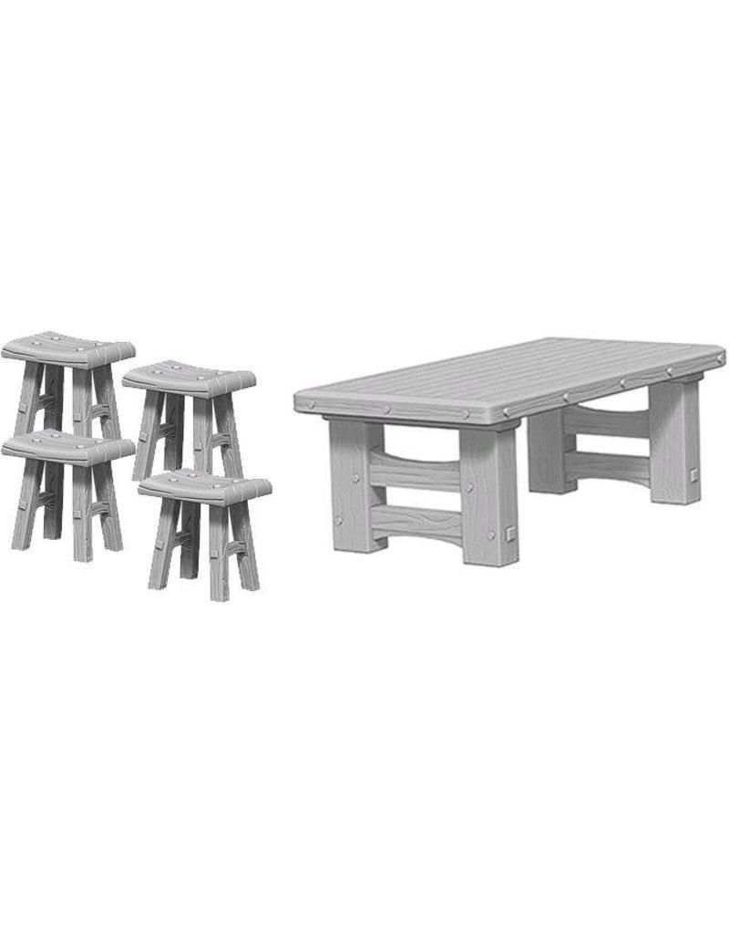 Tremendous Pathfinder Deep Cuts Wooden Table Stools Blister Pack Wave 4 Machost Co Dining Chair Design Ideas Machostcouk