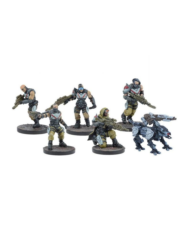 Mantic Games Warpath: Enforcer Mega Force