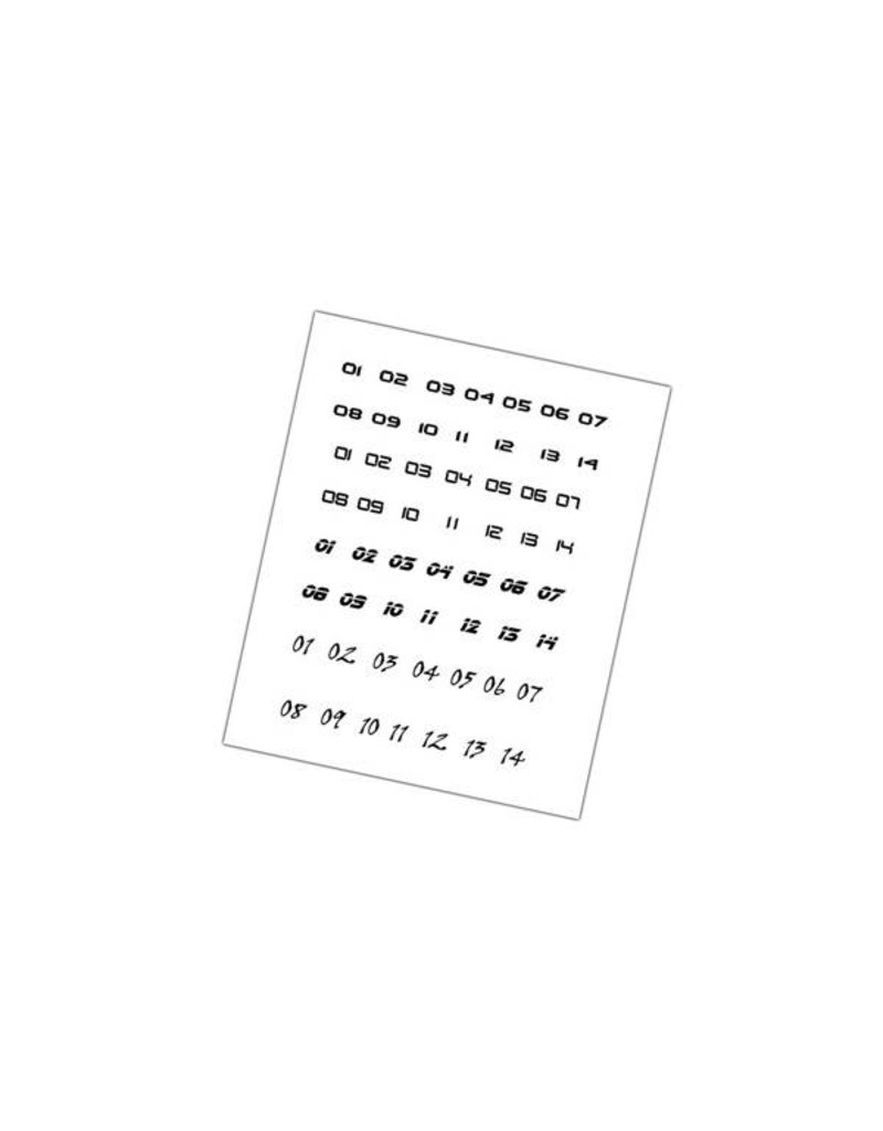 Mantic Games DreadBall 2nd Edition Decal Sheets Pack