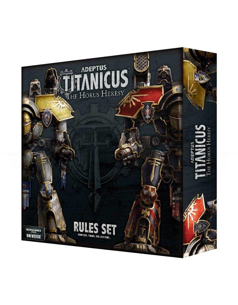 Games Workshop Adeptus Titanicus: Rules Set (EN)