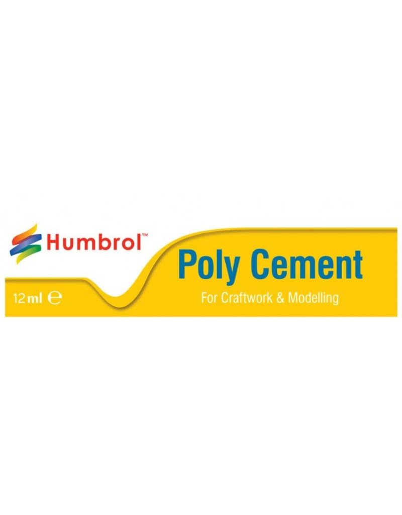 Humbrol Poly Cement Medium (Tube) 12ml