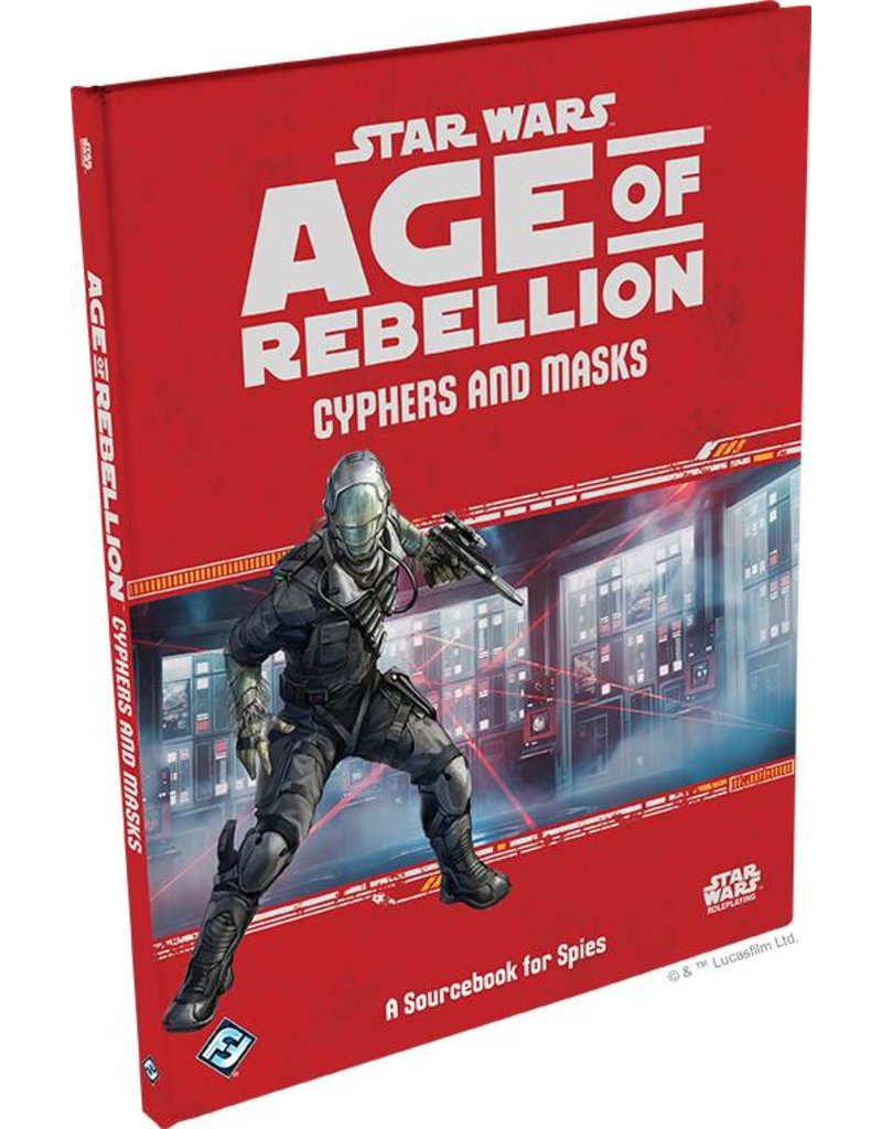 Fantasy Flight Games Cyphers and Masks: A Sourcebook for Spies: Age of Rebellion