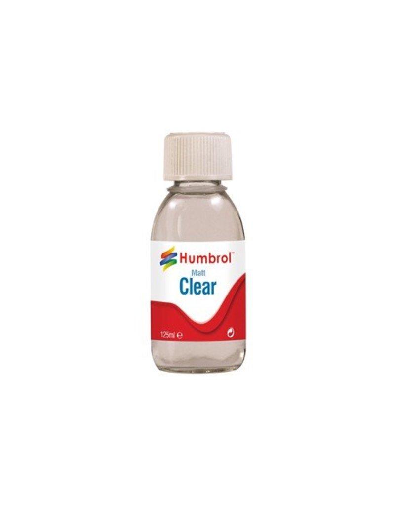 Humbrol Clear Matt 125ml Bottle