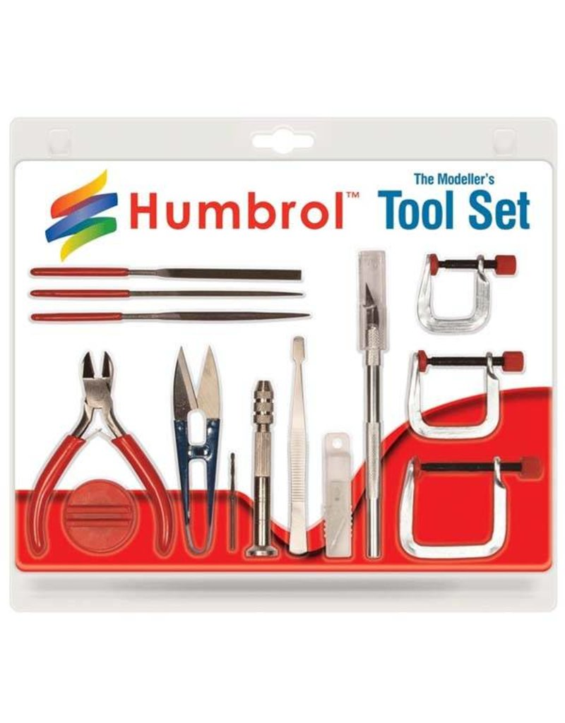 Humbrol The Kit Modeller's Tool Set Medium