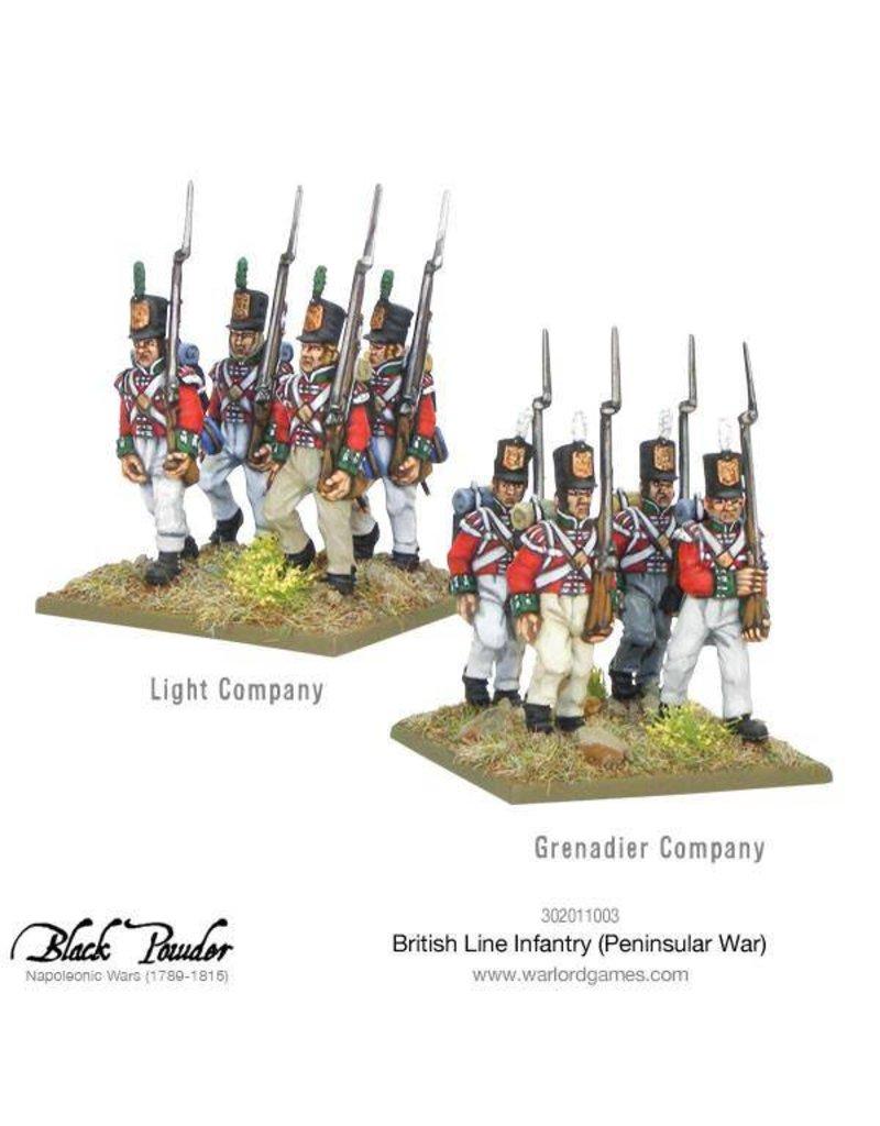 Warlord Games Napoleonic Wars 1789-1815 British Line Infantry (Peninsular) Box Set