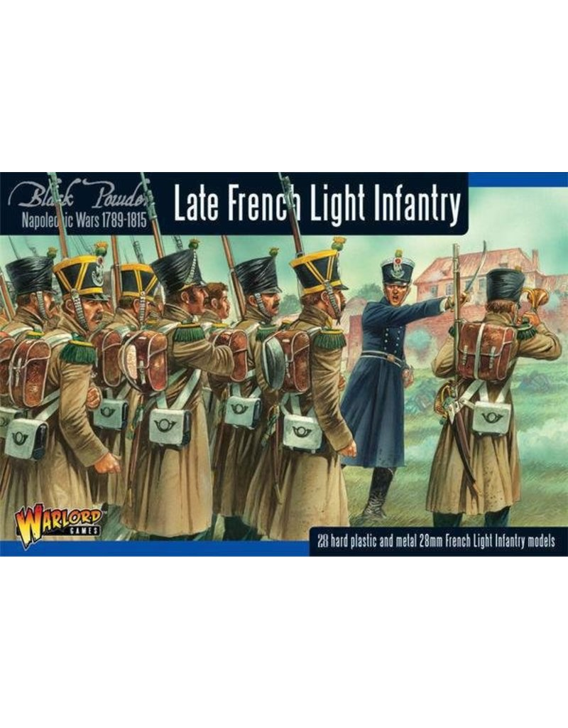 Warlord Games Napoleonic Wars 1789-1815 French Light Infantry (Waterloo) Box Set