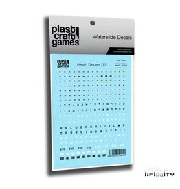 Plastcraft Infinity Decals - Aleph V3