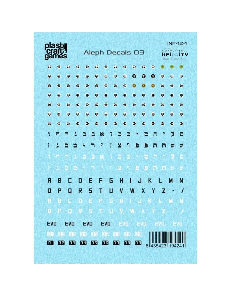 Plastcraft Infinity The Game Decals - Aleph 03