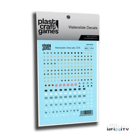 Plastcraft Infinity Decals - Nomads V3