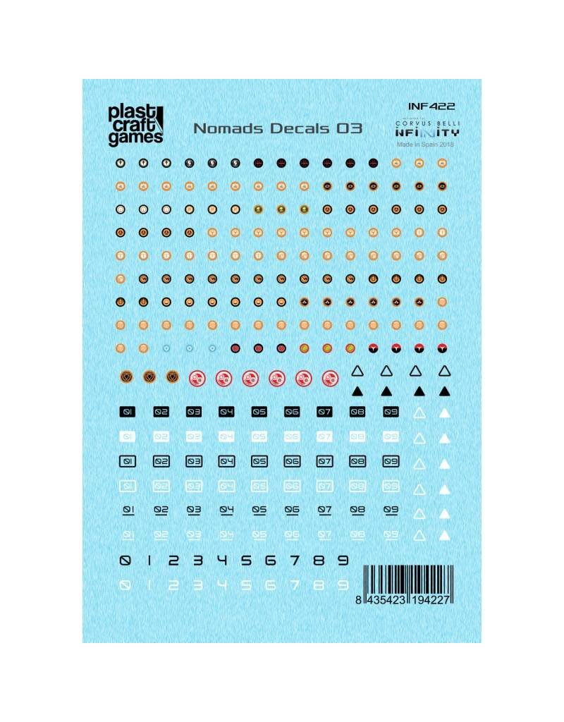 Plastcraft Infinity The Game Decals - Nomads 03