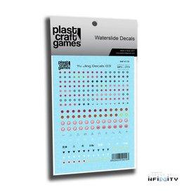 Plastcraft Infinity Decals - Yu Jing V3