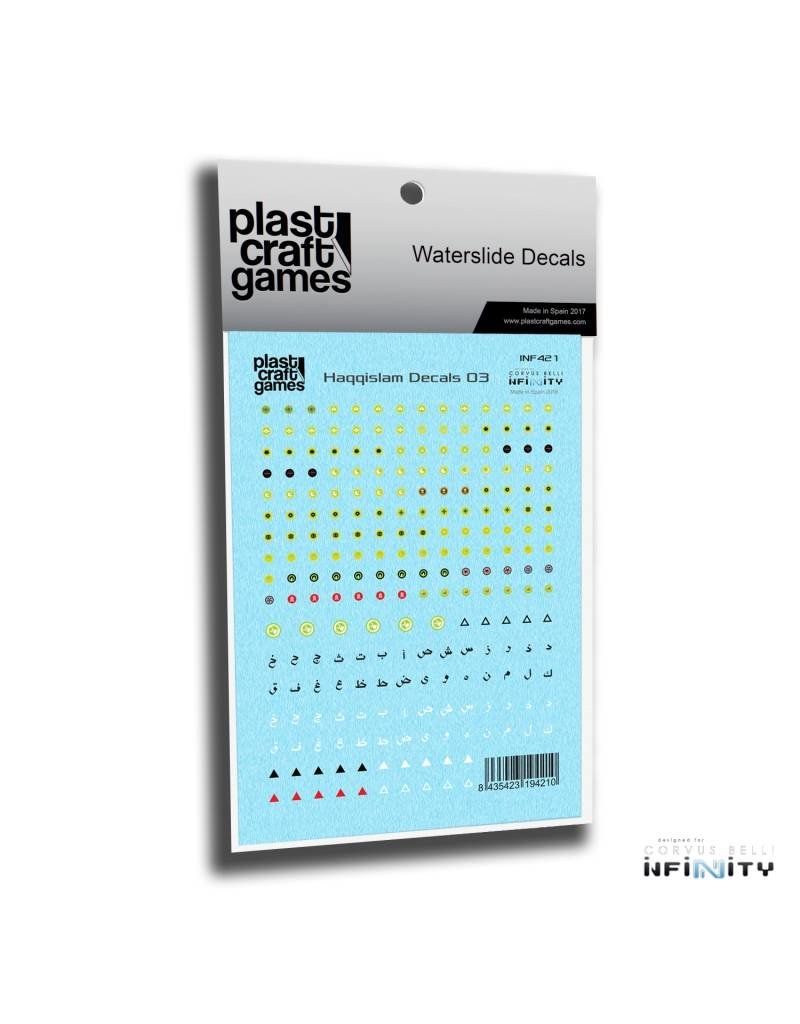 Plastcraft Infinity The Game Decals - Haqqislam 03
