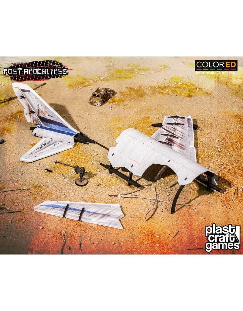 Plastcraft Post Apocalypse: Fuselage Wreckage