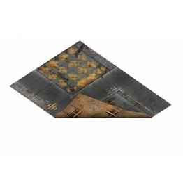 Game Mat 23'x30' Double Sided: Quarantine and Fallout Zone