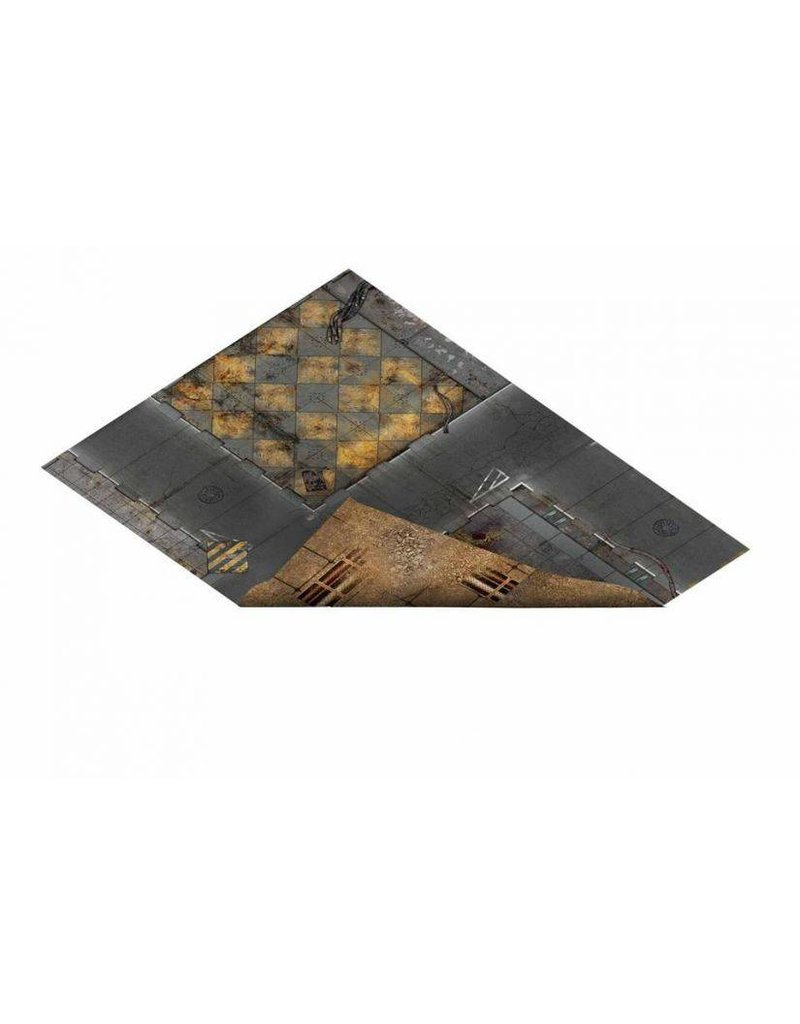 Game Mat 23'x30' Double Sided G-Mat: Quarantine and Fallout Zone