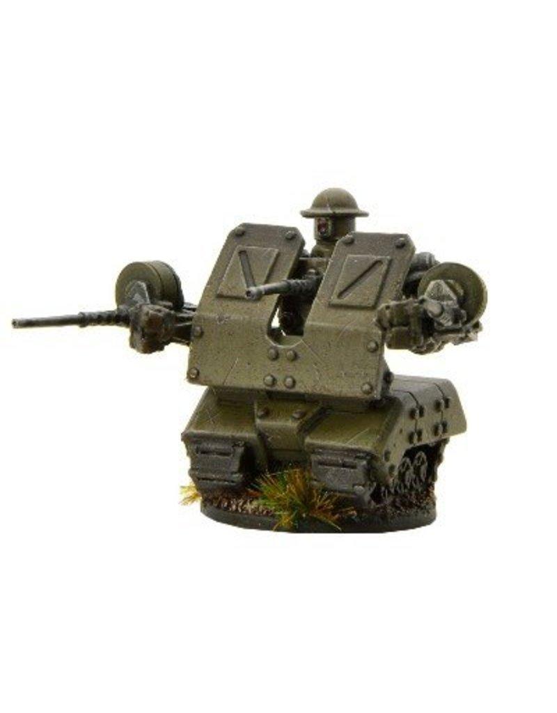 Warlord Games British Lancer Automated Mobile Platform