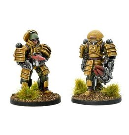 Warlord Games Battle Frame Anti-tank Team