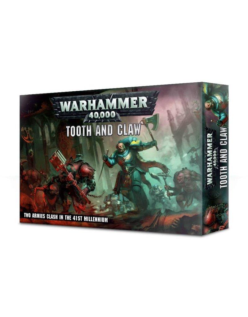 Games Workshop Warhammer 40k: Tooth & Claw (EN)