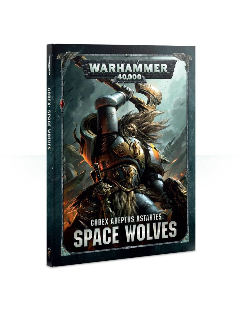 Games Workshop Codex: Space Wolves (HB) (8th Edition)