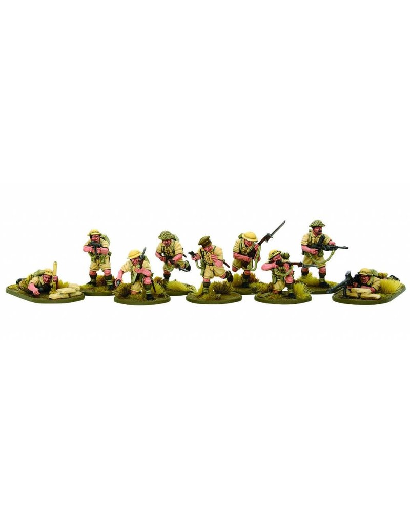 Warlord Games British 8th Army Starter Army