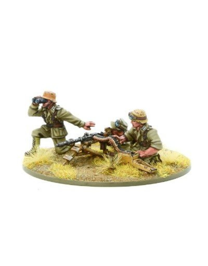 Warlord Games German Afrika Korps MMG Team Blister Pack