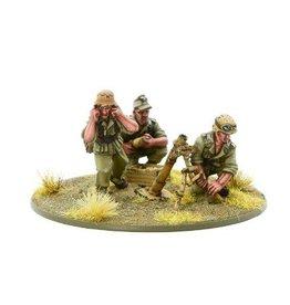 Warlord Games Afrika Korps Medium Mortar Team