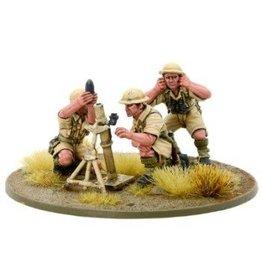 Warlord Games 8th Army Medium Mortar Team