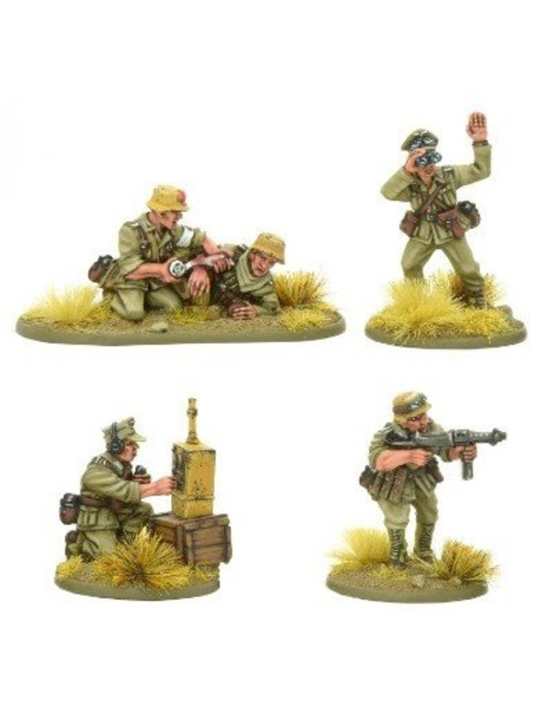Warlord Games German Afrika Korps HQ Blister Pack