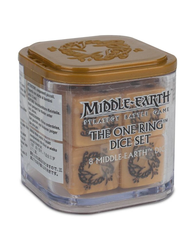 Games Workshop Middle Earth: The One Ring Dice Set