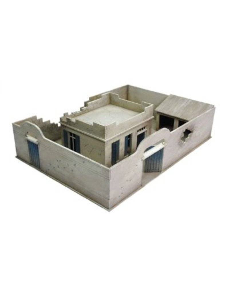 Warlord Games Damaged North Afrika Compound and House