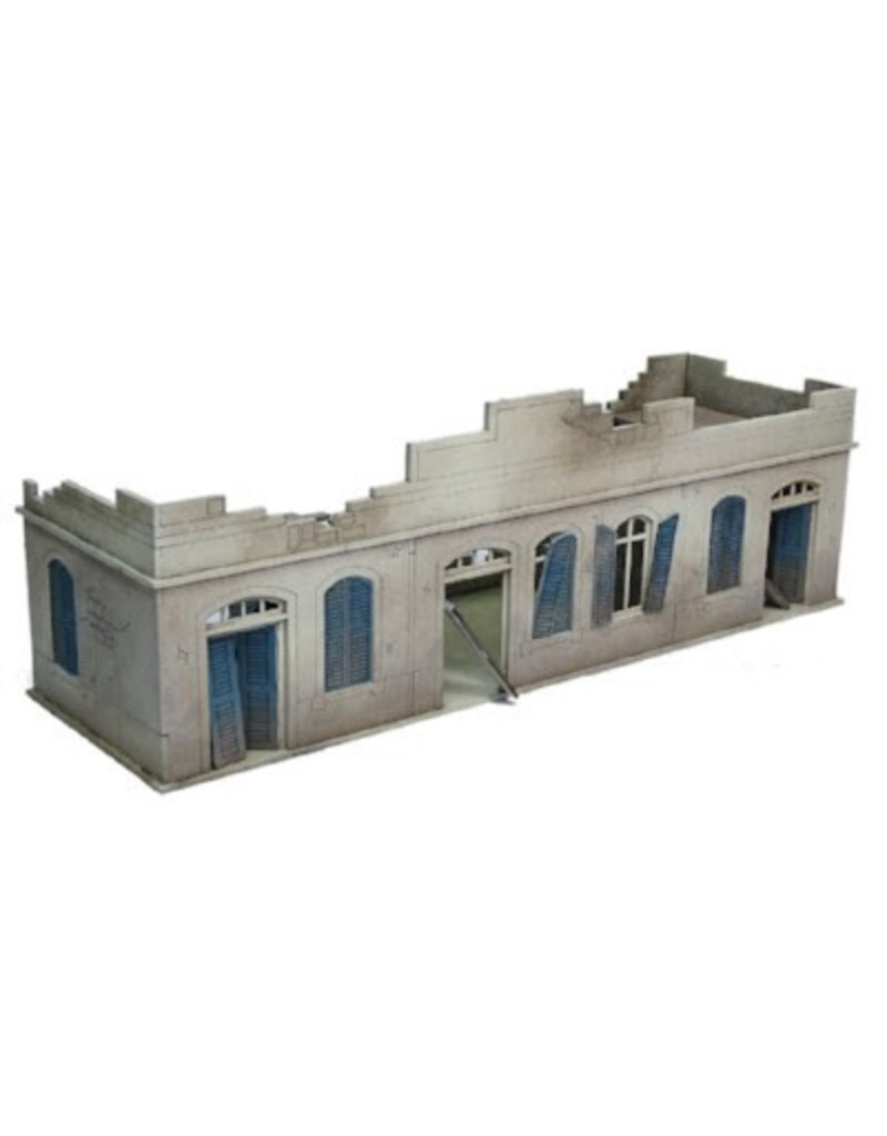 Warlord Games Large Destroyed North Africa House