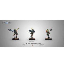 Corvus Belli Cube Jagers, Mercenary Recoverers (SMG)