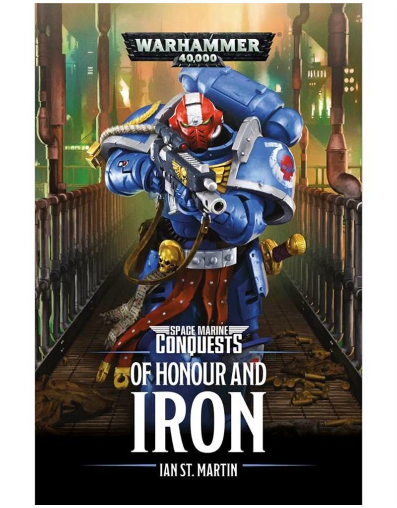 Games Workshop Space Marine Conqeusts: Of Honour And Iron (SB)