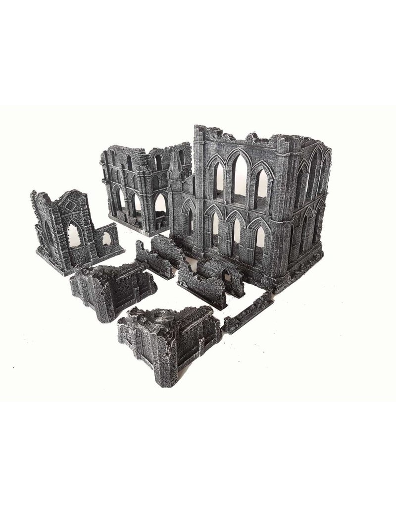 Game Mat Small Gothic Ruins Set