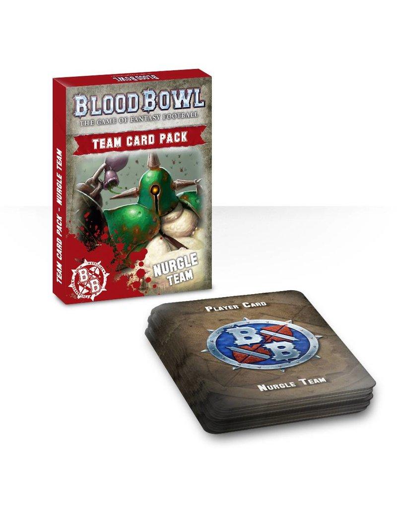 Games Workshop Blood Bowl: Nurgle Team Cards (EN)