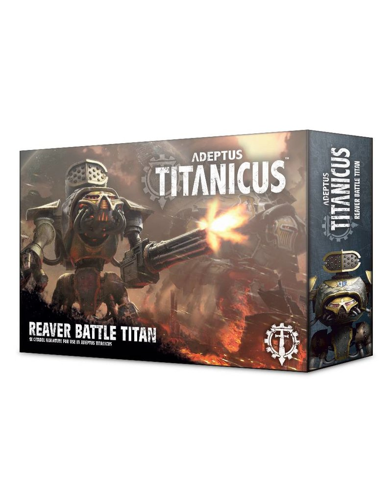 Games Workshop Adeptus Titanicus: Reaver Battle Titan