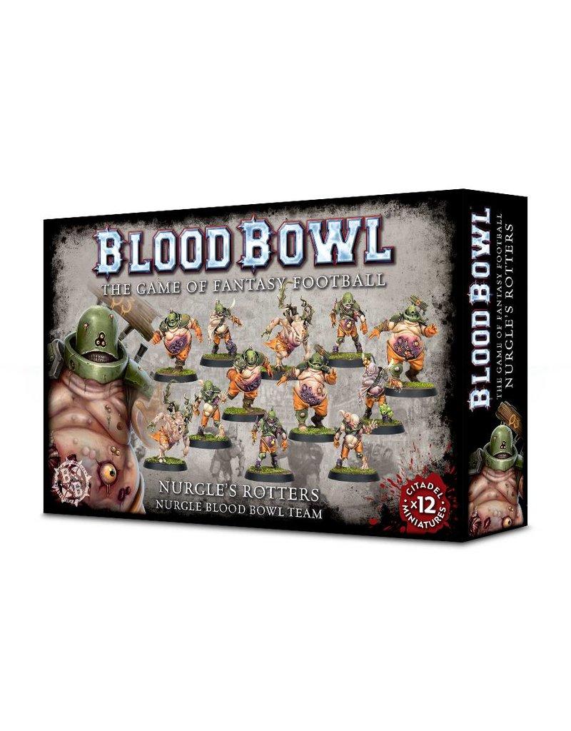 Games Workshop Blood Bowl: Nurgle's Rotters Team