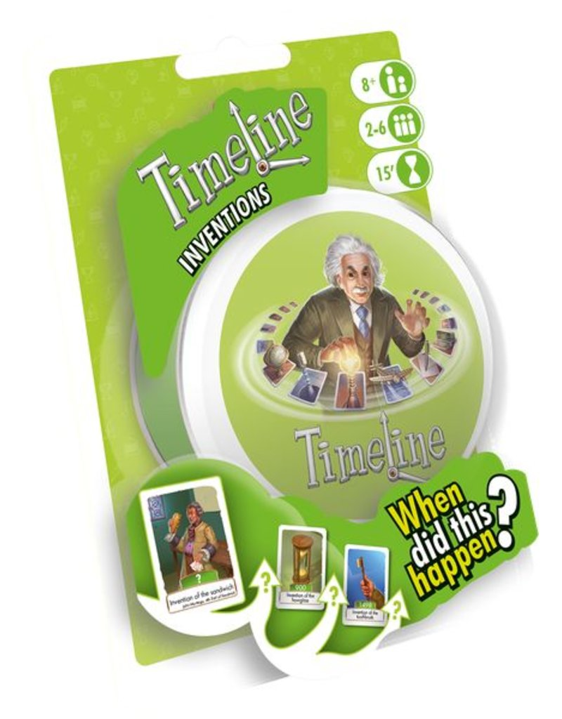 Asmodee Games Timeline Inventions Blister