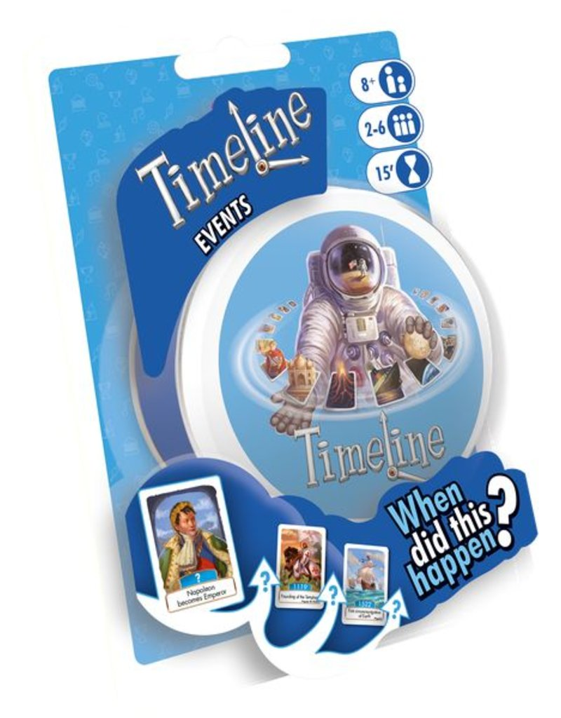 Asmodee Games Timeline Events Blister