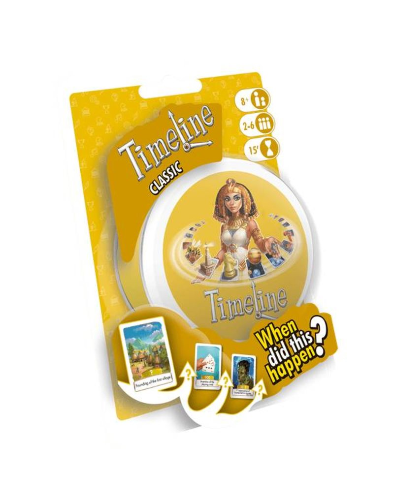 Asmodee Timeline Classic Blister
