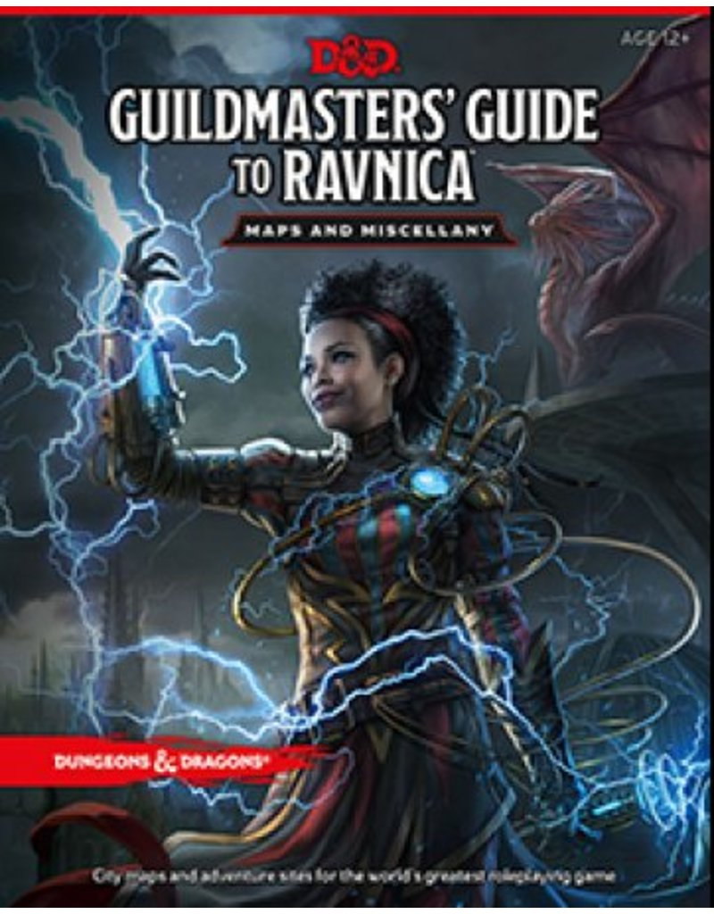Wizards of the Coast Dungeons & Dragons: Guildmasters' Guide to Ravnica Maps and Miscellany