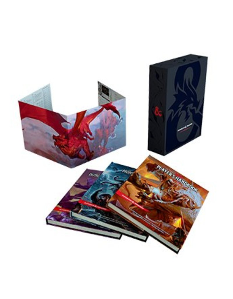 Wizards of the Coast Dungeons & Dragons Core Rulebook Gift Set