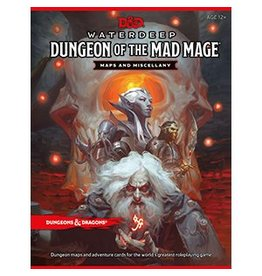 Wizards of the Coast Dungeon of the Mad Mage Map Pack