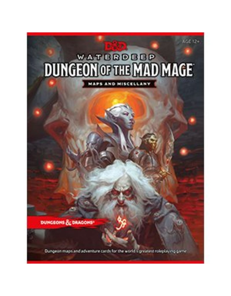 Wizards of the Coast Dungeons & Dragons: Dungeon of the Mad Mage Map Pack