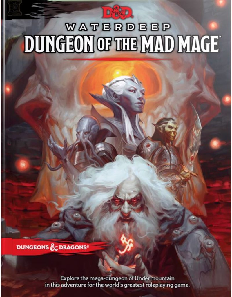 Wizards of the Coast Dungeons & Dragons: Waterdeep Dungeon of the Mad Mage