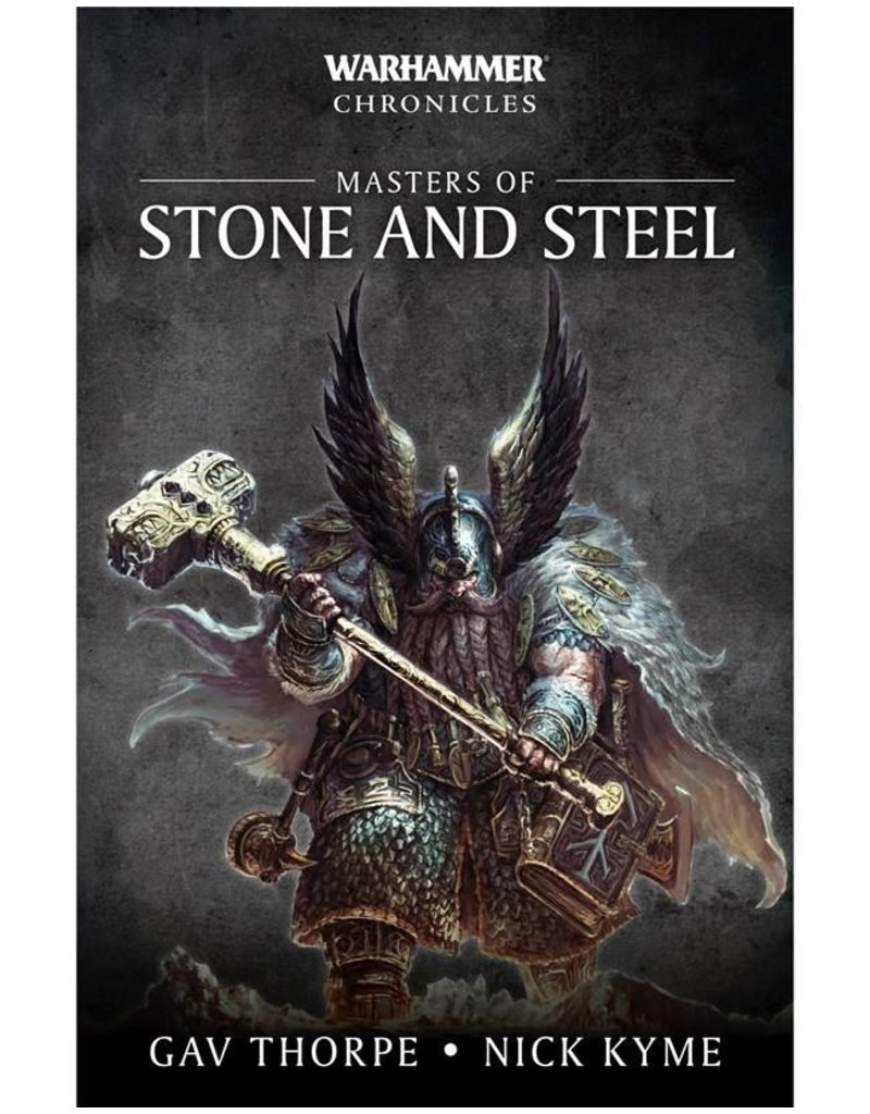 Games Workshop Warhammer Chronicles: Masters Of Stone And Steel (SB)