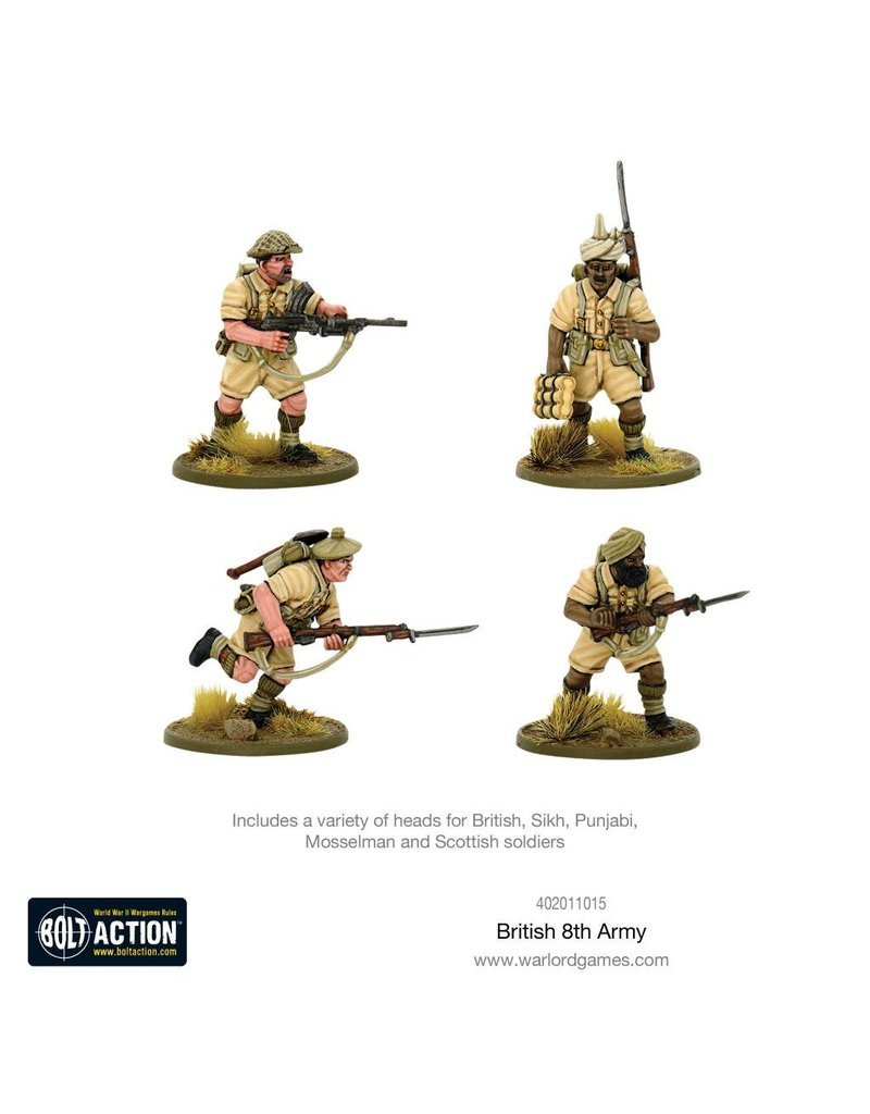 Warlord Games 8th Army Infantry