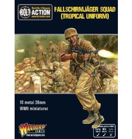 Warlord Games Fallschirmjager Squad (Tropical Uniform)