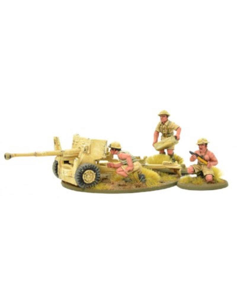 Warlord Games British 8th Army 6 Pounder Anti Tank Gun