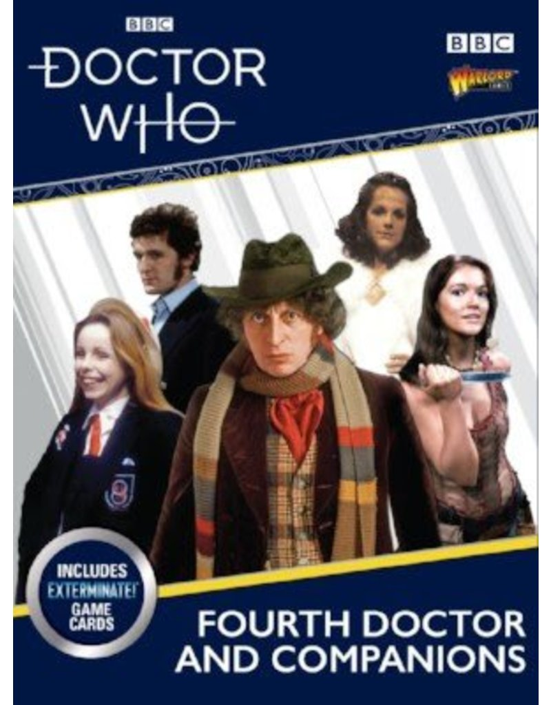 Warlord Games Doctor Who: The Fourth Doctor & Companions